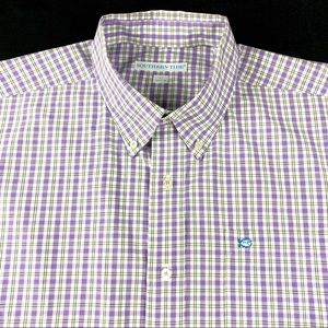 Southern Tide Skipjack Button Down Shirt Mens L